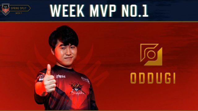 LJL W8 MVP OddGi