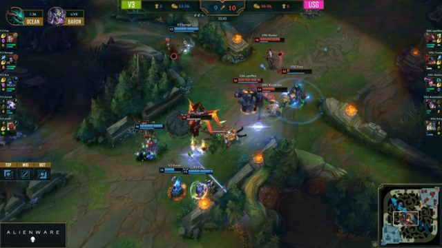 LJL W8 V3 TEAMFIGHT
