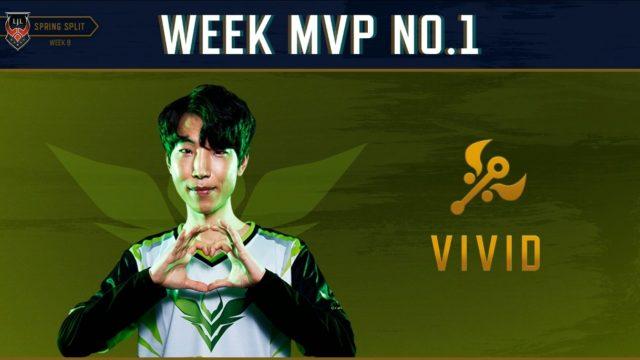 LJL WEEK9 No1 MVP