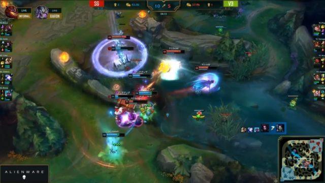 V3 teamfight