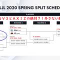 LJL Spring Playoffs 2020 V3 VS AXIZをデータからみて徹底予想!