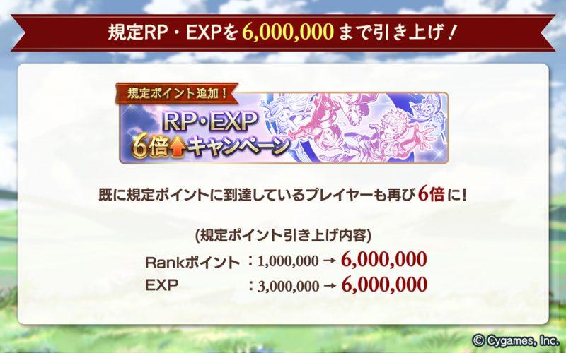 Rankポイント」と「EXP」